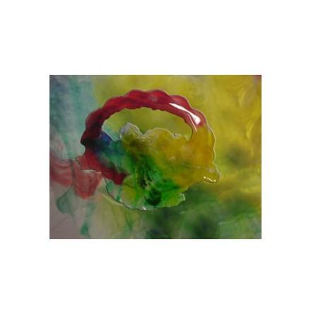 Färg till transparent harts epoxi